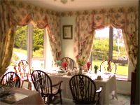 The dining room in Haywoods B&B accommodation, Donegal Town, Co. Donegal