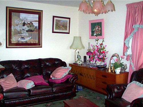 The lounge in Haywoods B&B accommodation, Donegal Town, Co. Donegal